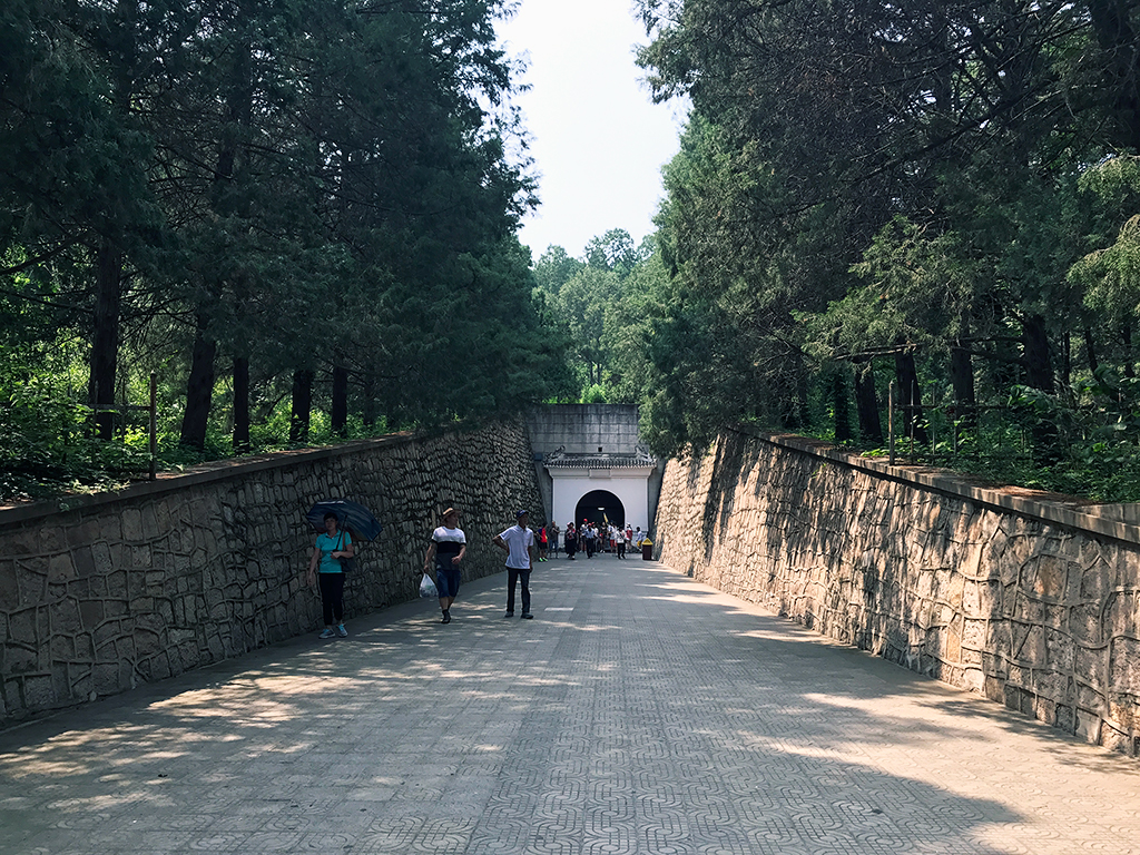 Changling Tomb, the Ming tomb of the 3rd emperor of the Ming Dynasty