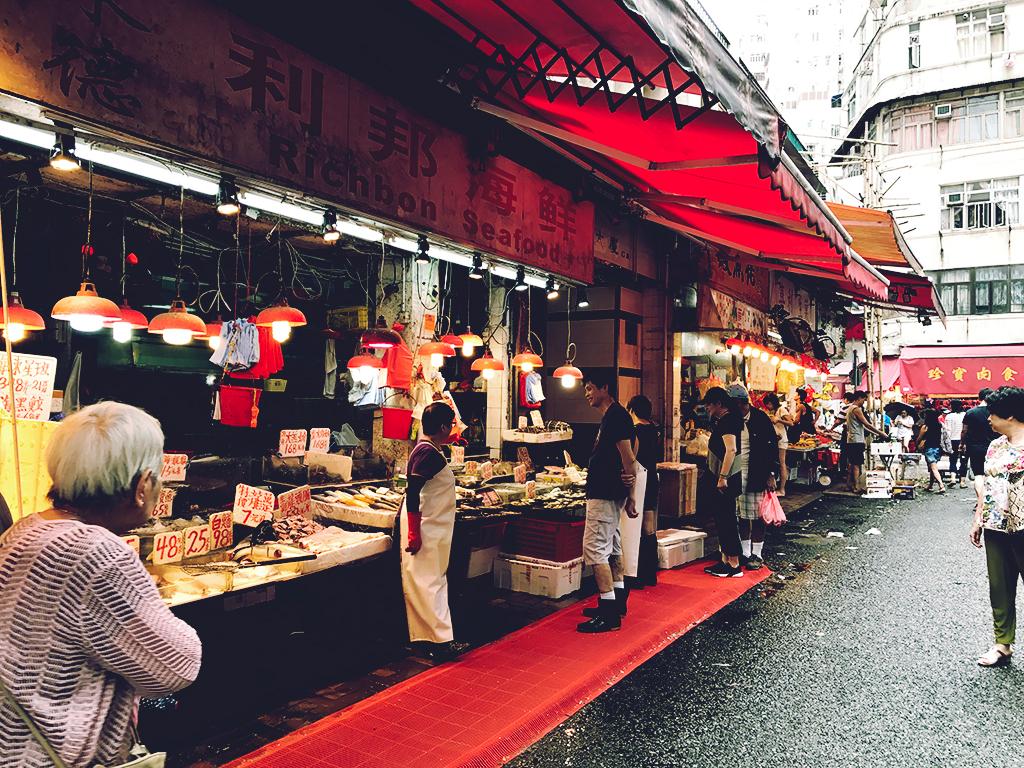 Wanchai Wet Markets