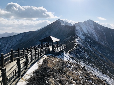 Day trip to Mount Taibai in China