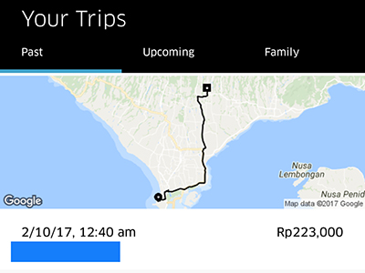 Our Experience Taking Uber in Bali