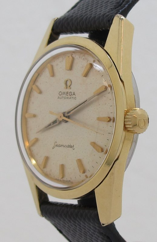 Omega Ref 14700 Gold Capped 34mm Automatic Seamaster In