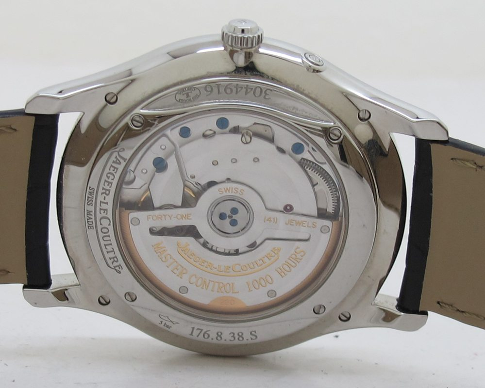 Jaeger LeCoultre ref Q1378420 Steel 39mm Automatic Master ...
