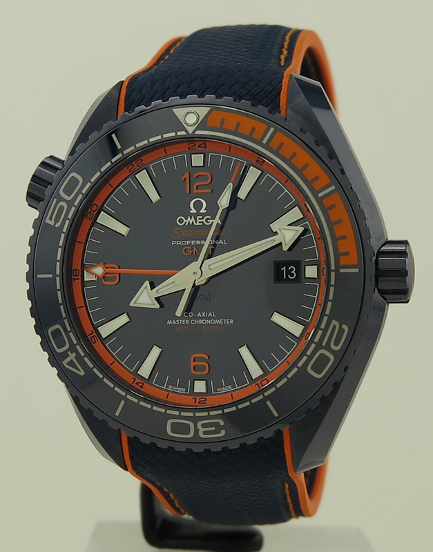 Omega Ref 21592462203001 Blue Amp Orange Ceramic Auto Cal