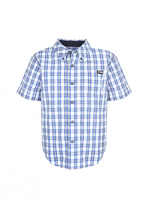BOYS HENDERSON CHECK BUTTON DOWN SS SHIRT