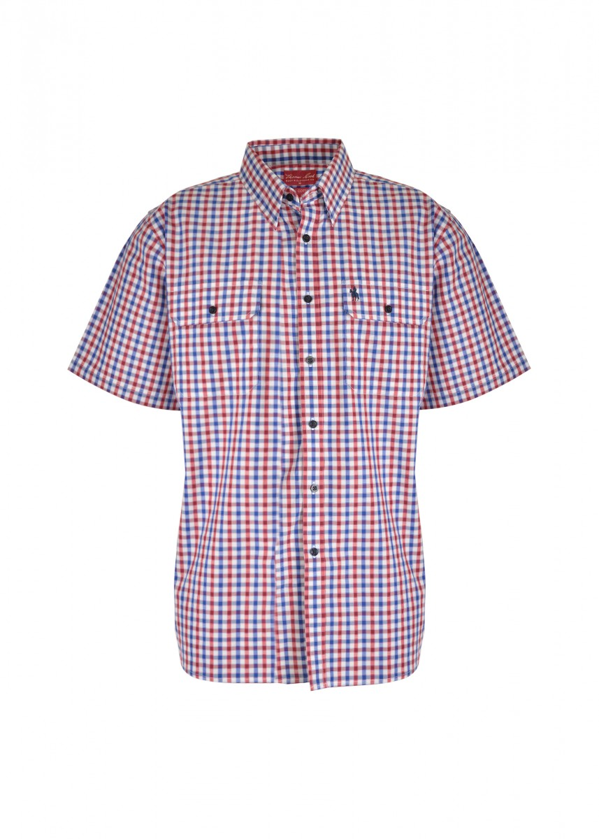 MENS BARRET 2-PKT S/S SHIRT