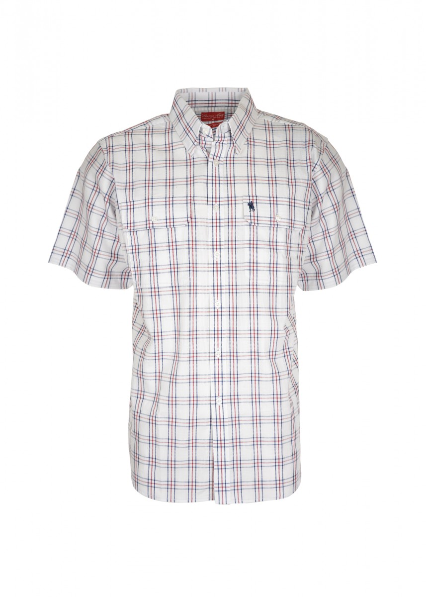 MENS BASS 2-PKT S/S SHIRT