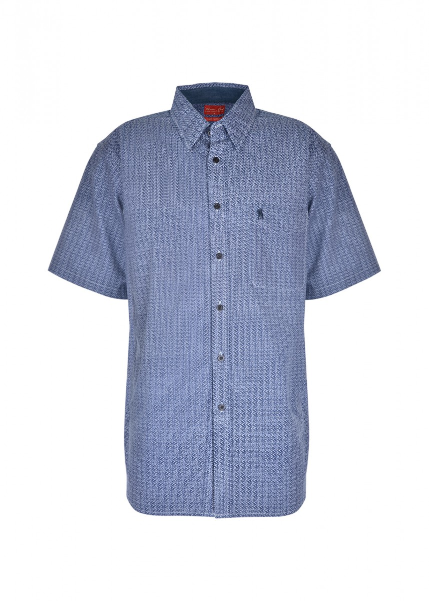 MENS BOUNDARY 1-PKT S/S SHIRT