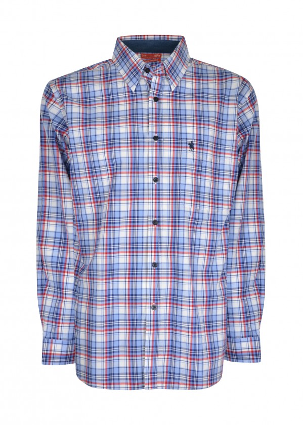MENS BELLEVUE 1-PKT L/S SHIRT