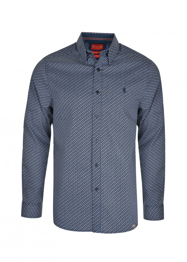 MENS BARNES TAILORED L/S SHIRT