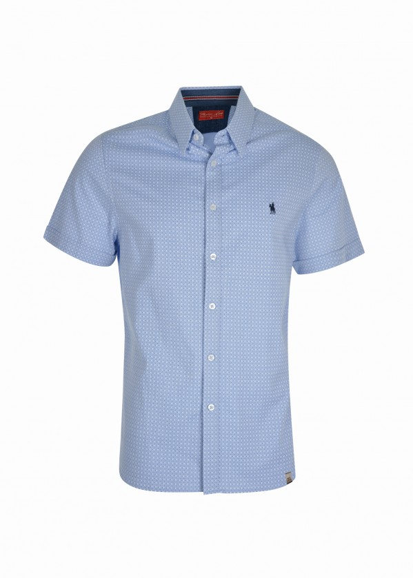 MENS ADAMS TAILORED S/S SHIRT