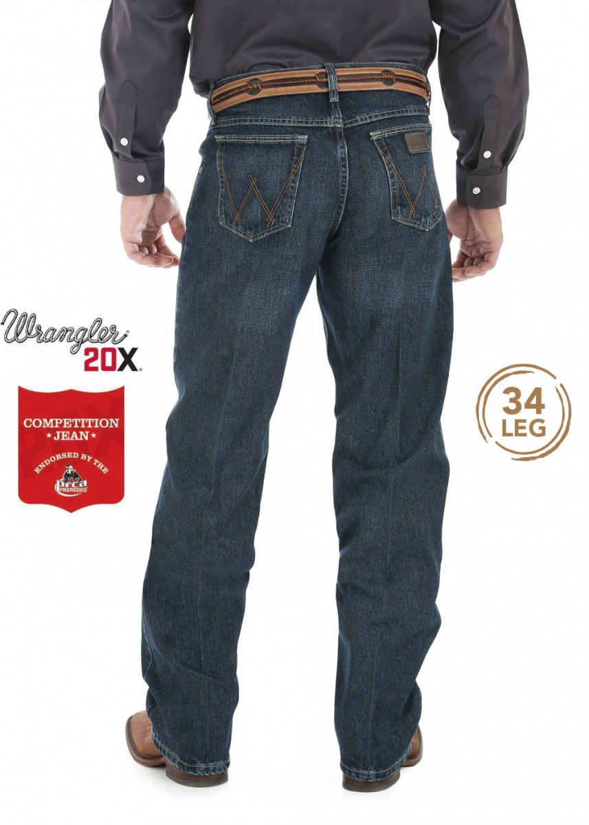 MENS 20X COMPETITION RELAXED JEAN 34 LEG