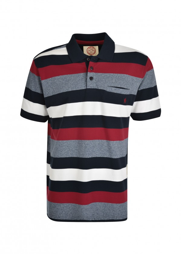 MENS JETSON 1-PKT S/S POLO