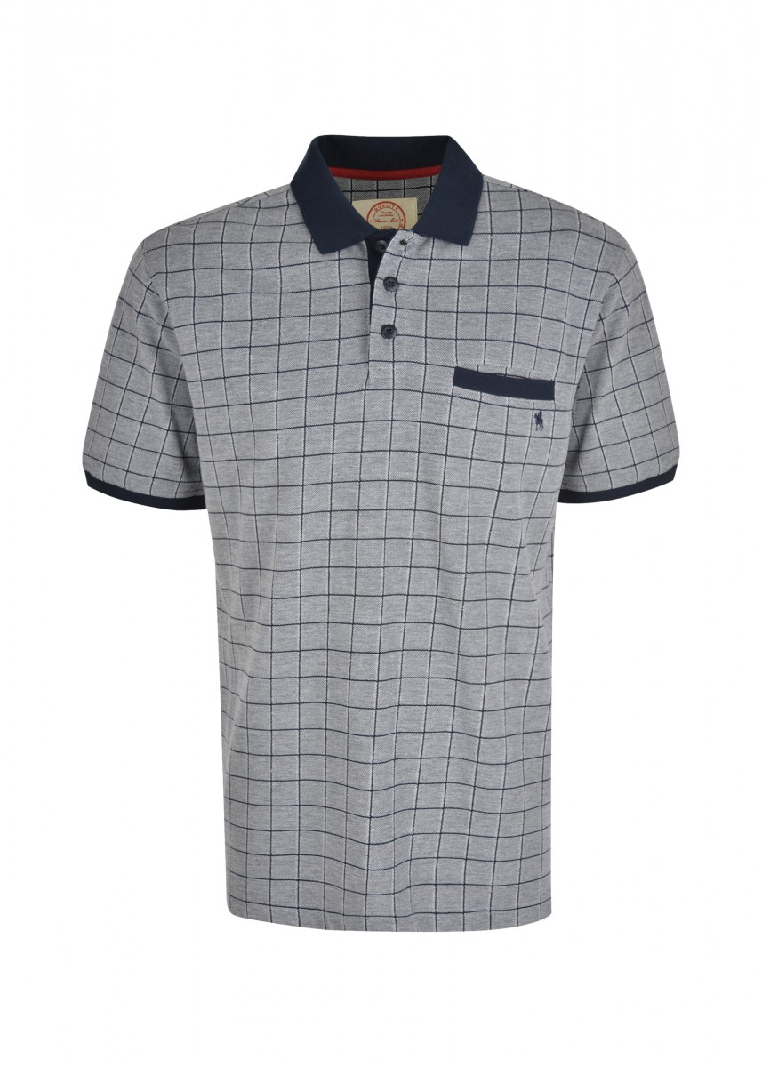 MENS LLOYD 1-PKT S/S POLO