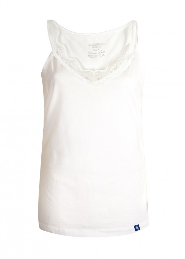 WOMENS ELLY LACE TRIM CAMI