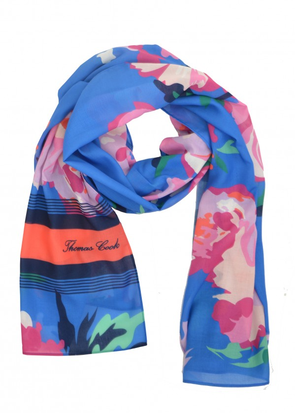 WMNS EVERYDAY TC PRINT SCARF