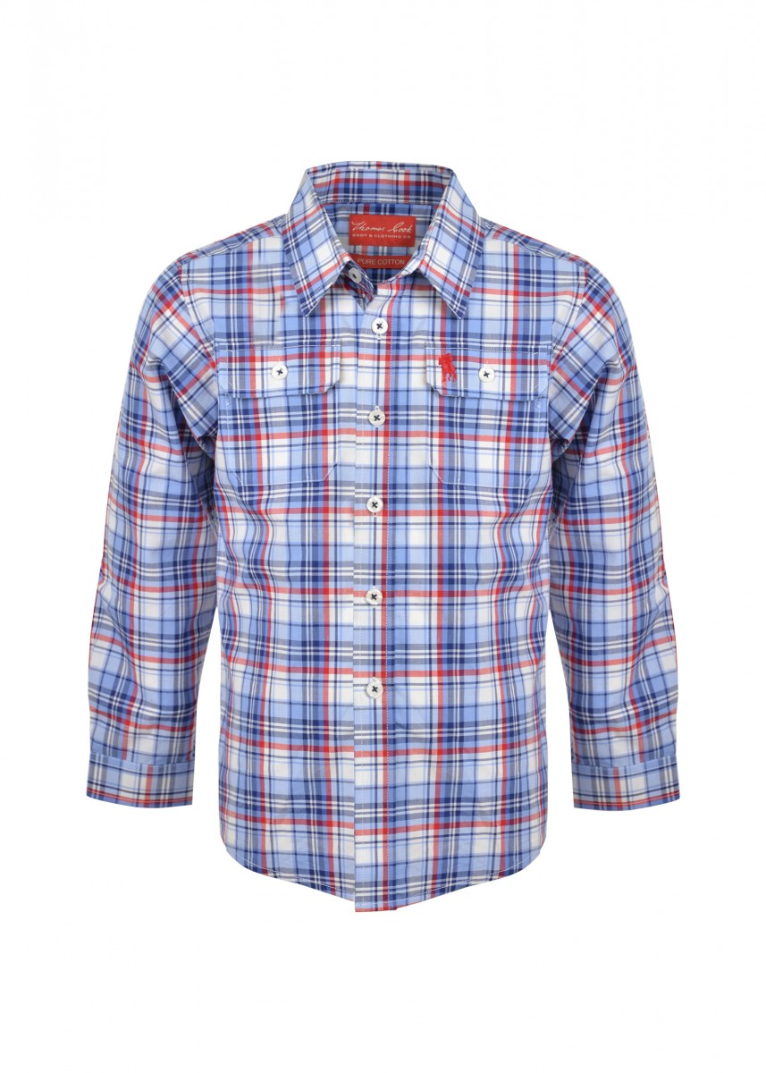 BOYS BELLEVUE 2-PKT L/S SHIRT