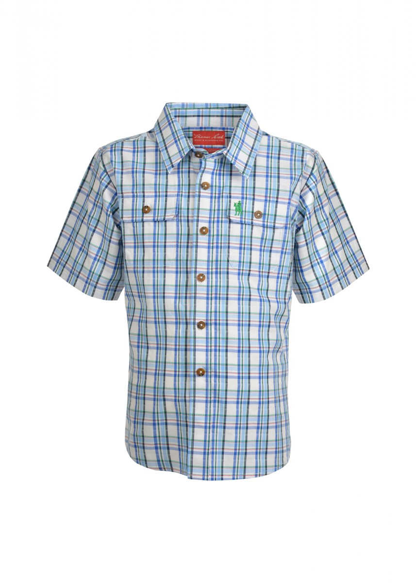 BOYS DODGE 2-PKT S/S SHIRT