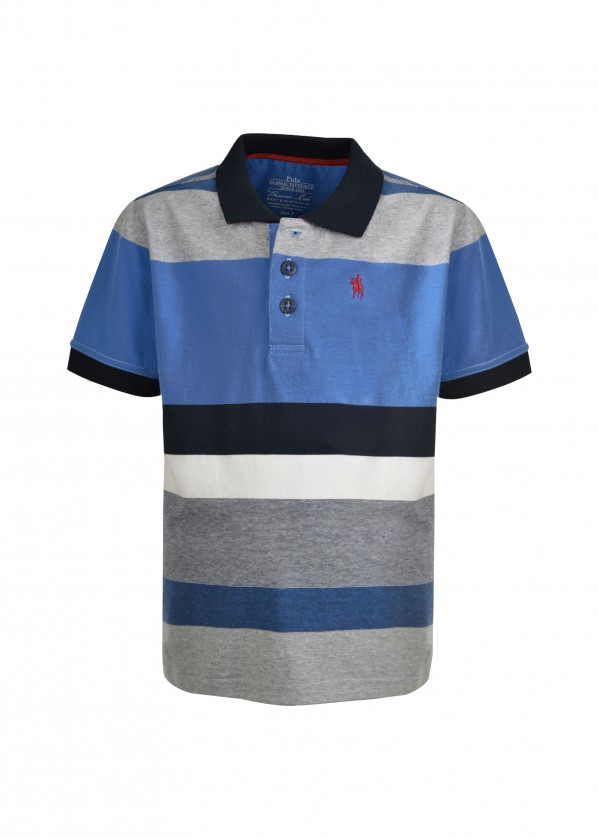 BOYS MACKAY S/S POLO