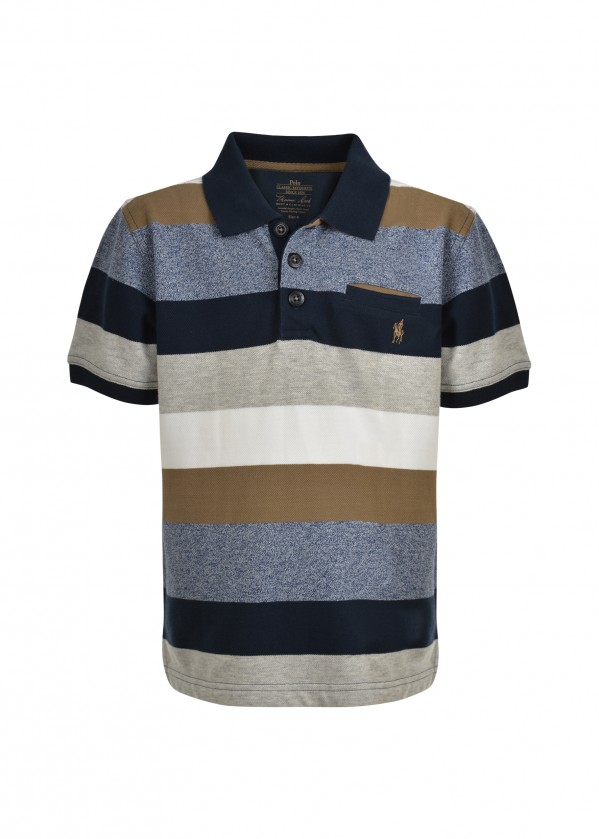 BOYS JACK 1-PKT S/S POLO