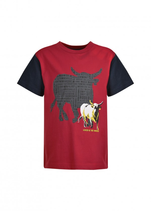 BOYS BULL SHADOW S/S TEE