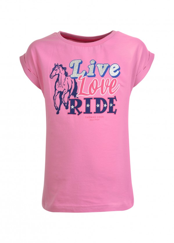 GIRLS LIVE LOVE RIDE TEE