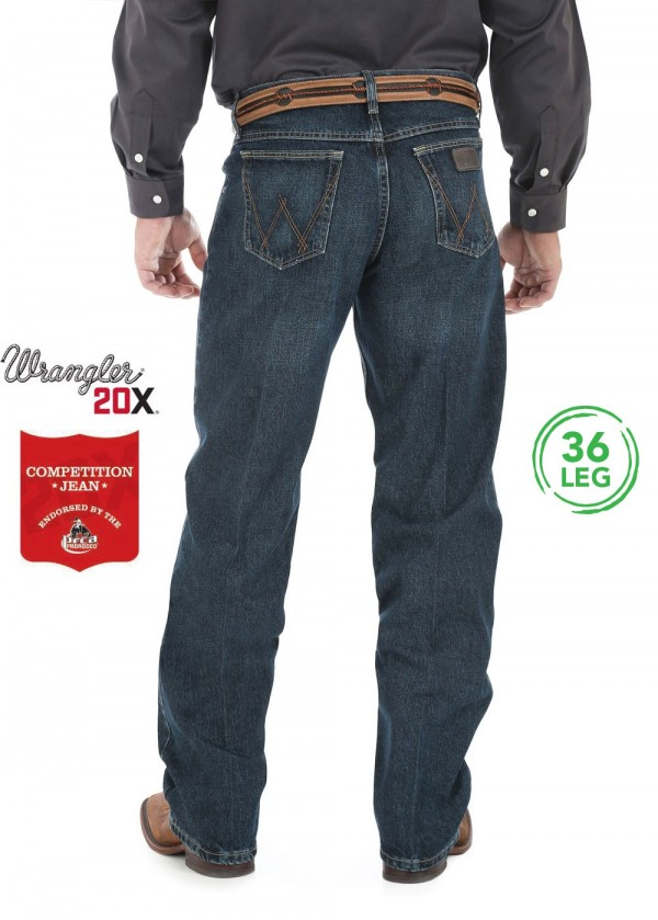 MENS 20X COMPETITION RELAXED JEAN 36 LEG