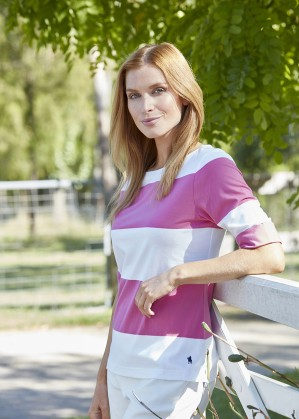 WOMENS HEIDI ELBOW SLEEVE TOP