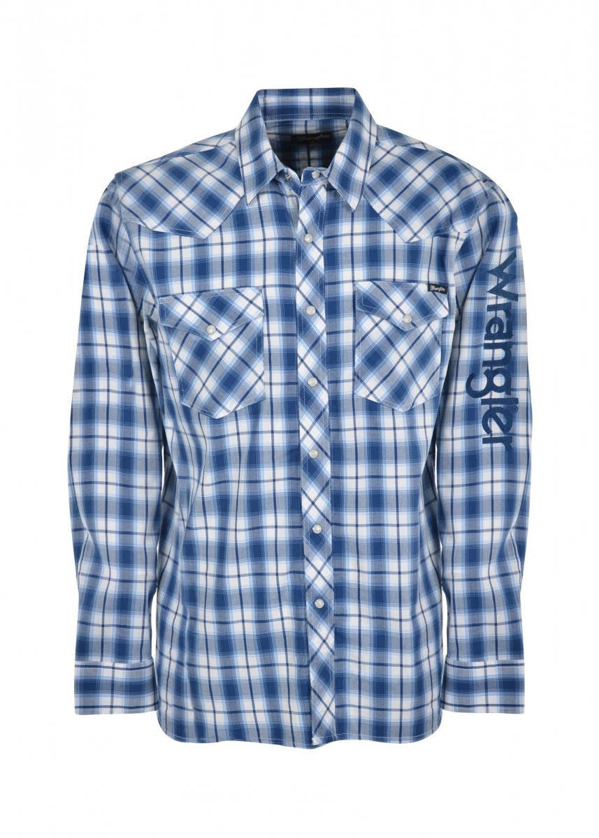 MENS BUXTON CHECK L/S SHIRT