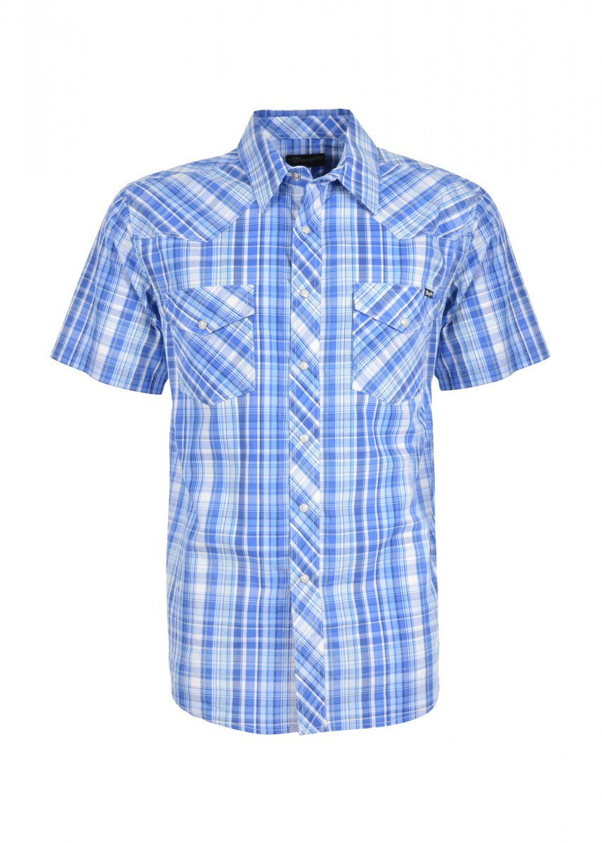 MENS GRANVILLE CHECK S/S SHIRT