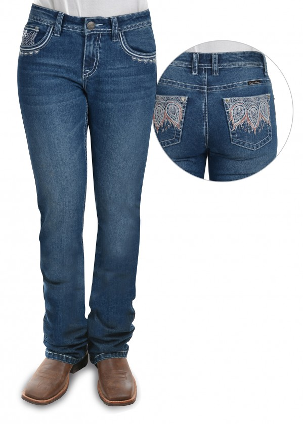 WOMENS KATELYN RELAXED RIDER JEAN - 36 LEG