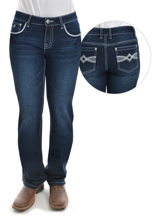 WOMENS NANCY STRAIGHT LEG JEAN - 34 LEG