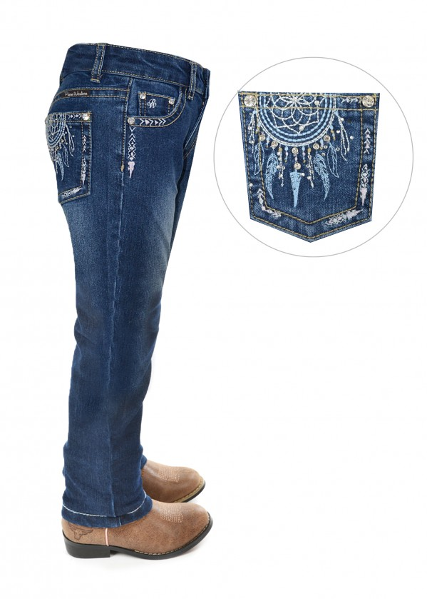 GIRLS TRUDY SLIM LEG JEAN