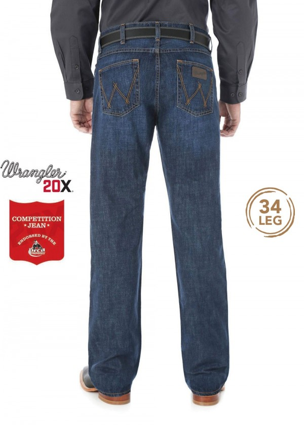 MENS 20X COMPETITION SLIM FIT JEAN 34 LEG