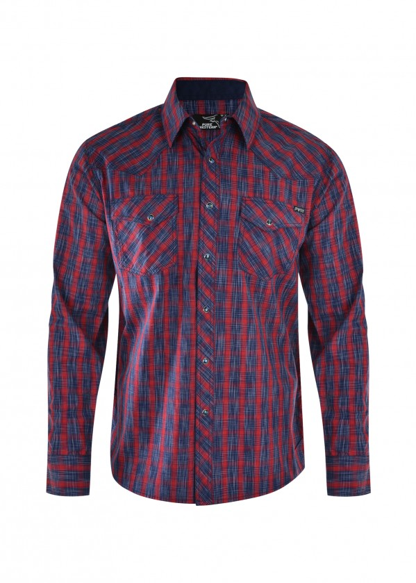MENS DALWOOD CHECK L/S SHIRT