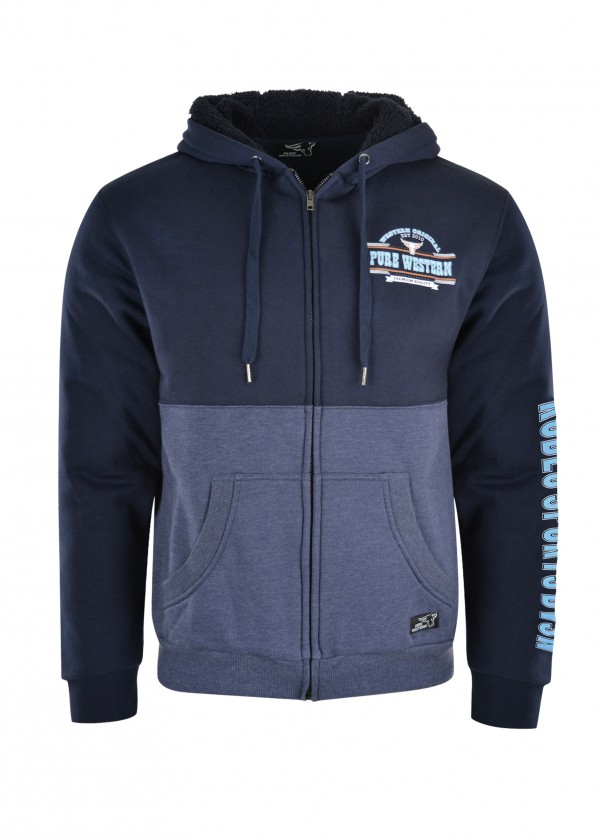 MENS SCOTT ZIP UP HOODIE