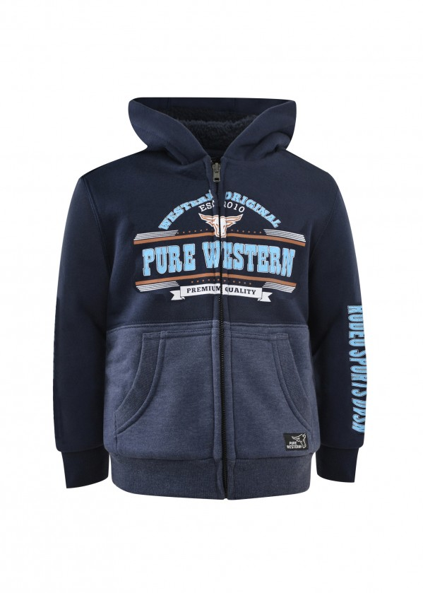 BOYS SCOTT ZIP UP HOODIE