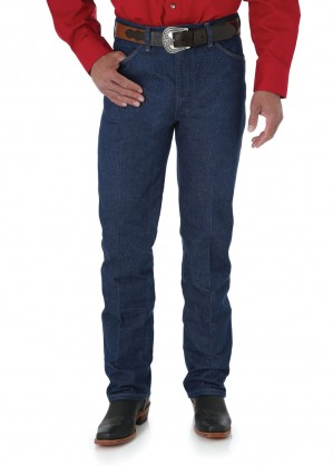MENS COWBOY CUT SLIM FIT JEAN 32 LEG