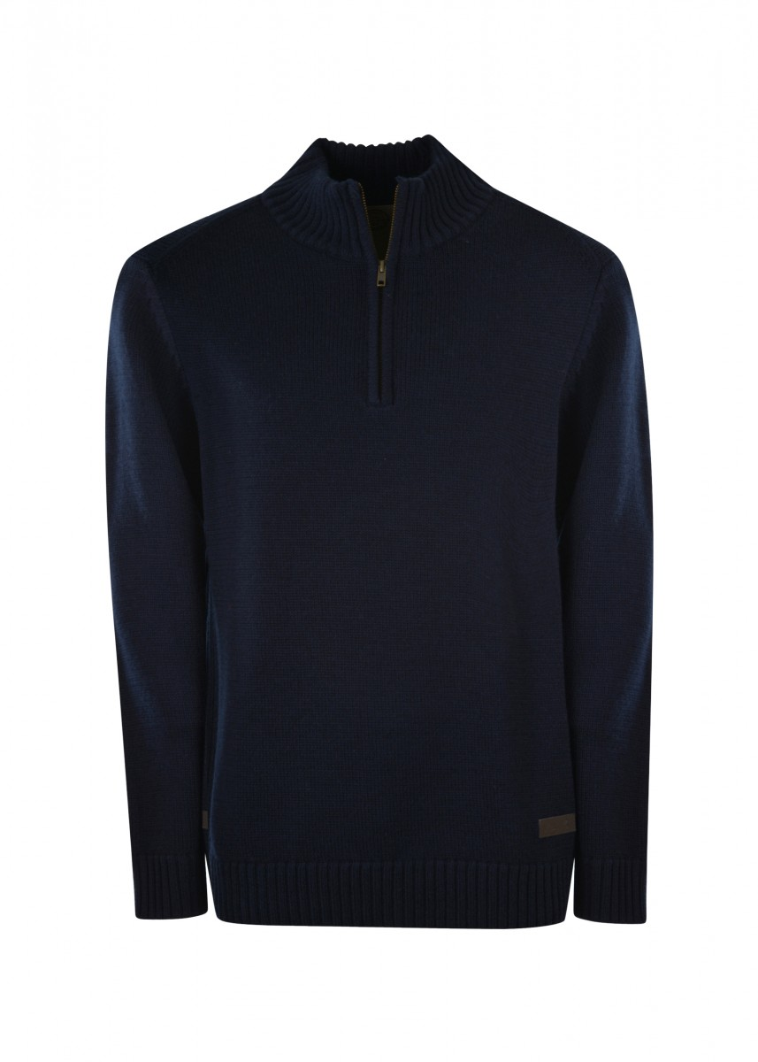 MENS ALBANY 1/4 ZIP NECK JUMPER