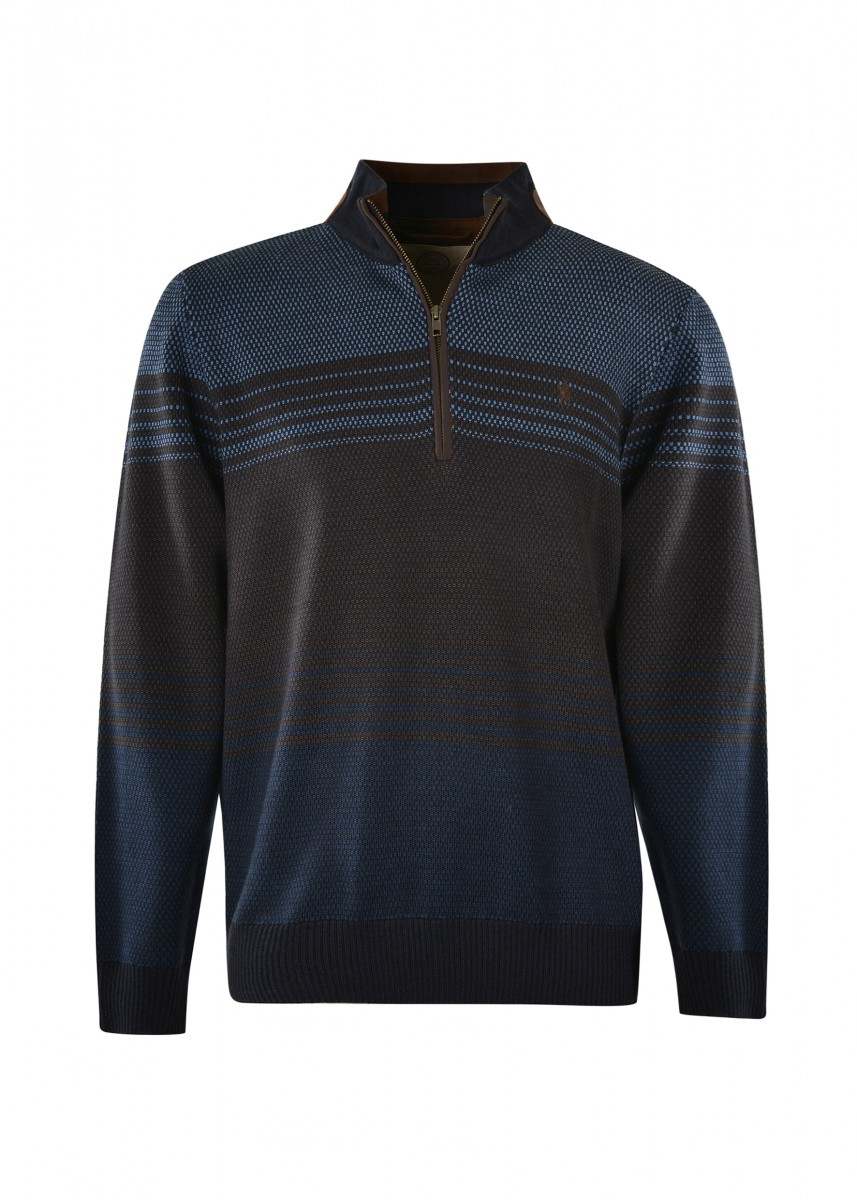MEN BETTERSON STRIPE MERINO BLEND RUGBY