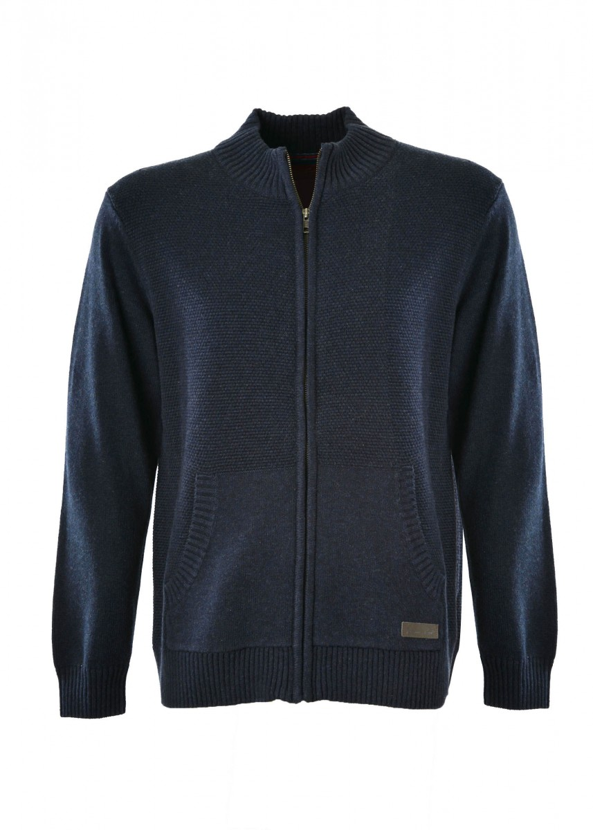 MENS DANNY ZIP UP KNIT JACKET