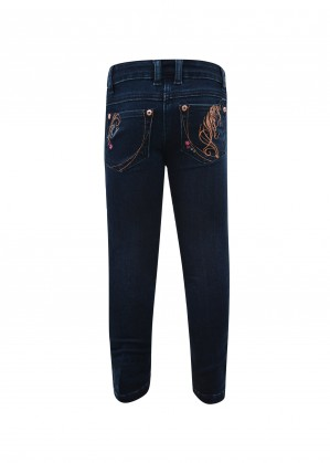 GIRLS ANGEL DENIM SLIM LEG JEAN