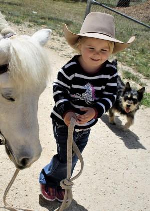 GIRLS STARDUST HORSE SEQUIN JUMPER