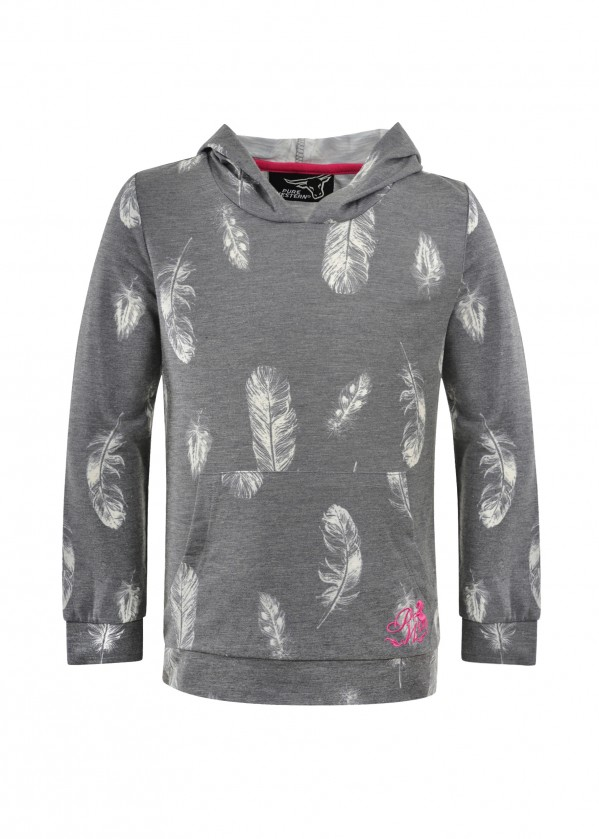 GIRLS TINA HOODED TEE