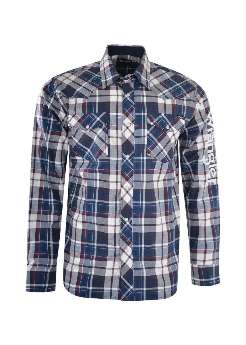 MENS POWELL CHECK L/S SHIRT