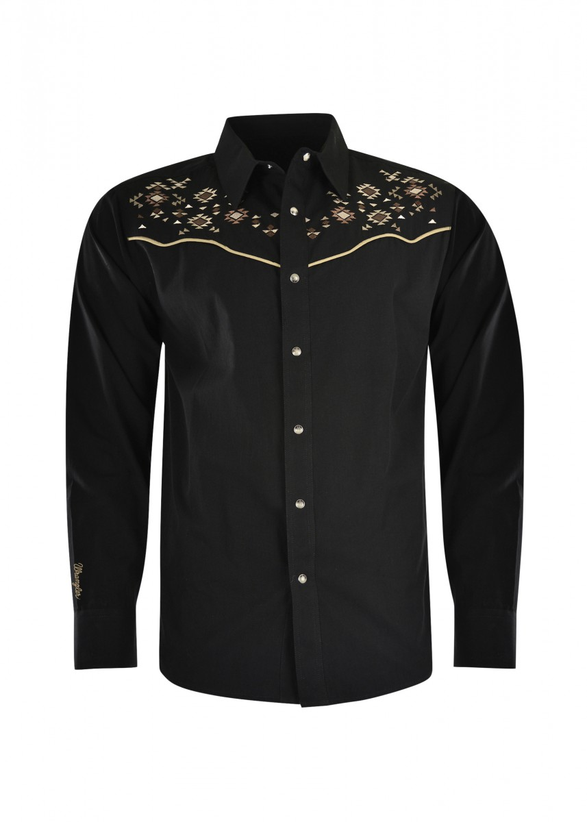 MENS AZTEC L/S SHIRT