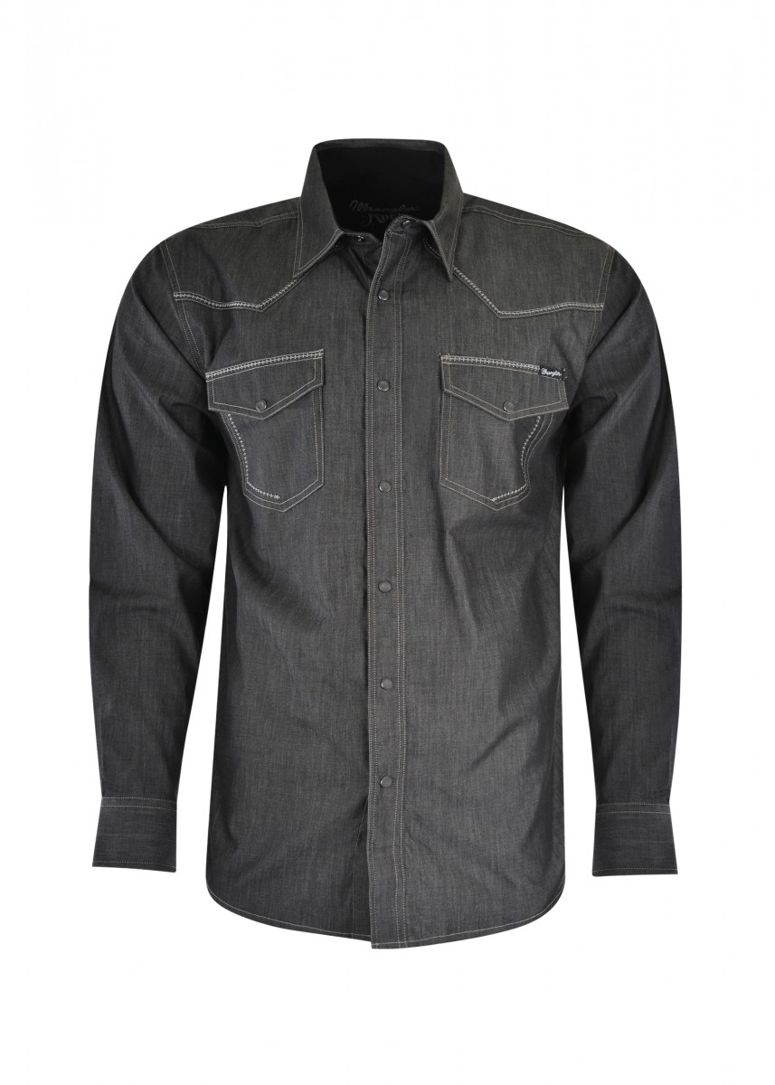 MENS ROCK 47 CALEB L/S SHIRT