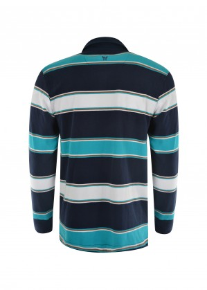 MENS HOLLAND STRIPE RUGBY