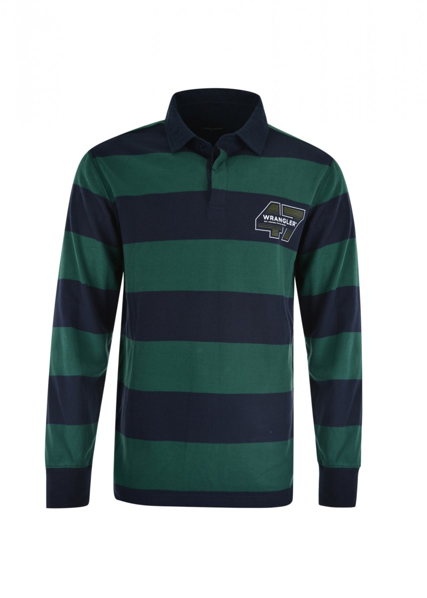 MENS HOWARD STRIPE RUGBY