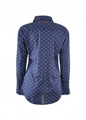 WOMENS JOEY PRINT L/S SHIRT