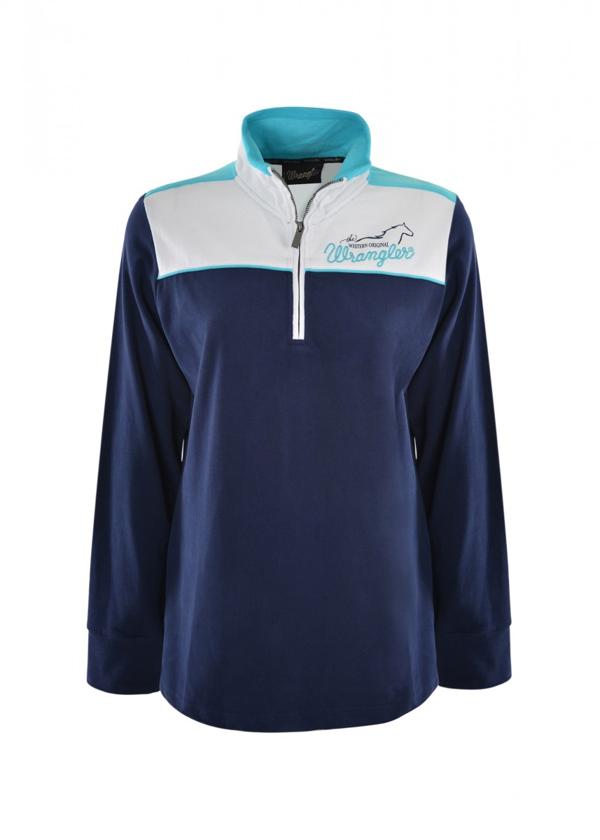 WOMENS TENILLE PANELLED L/S RUGBY
